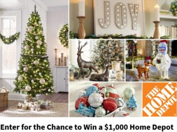 ryan seacrests home depot holiday sweepstakes - Is Home Depot Open On Christmas Eve
