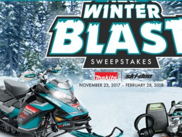 Makita U.S.A. Winter Blast Sweepstakes
