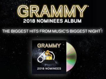 2018 GRAMMY Nominees Album Flyaway Sweepstakes