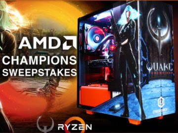 Gamecrate AMD Champions Sweepstakes