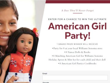PopSugar Ultimate American Girl Party Sweepstakes
