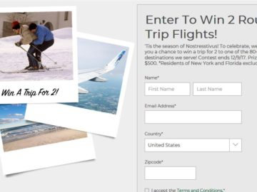 Frontier Airlines Trip Sweepstakes