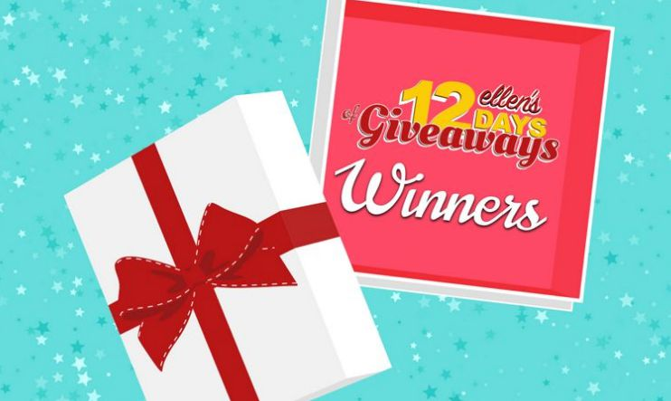 Ellen degeneres 12 days of giveaways registering