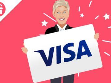 Win a $300 Visa Gift Card from Ellen!