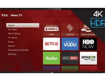 Win a 55″ 4K TCL Roku TV!