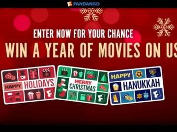 """Fandango's """"A Year of Free Movies"""" Sweepstakes"""