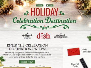 DISH 2017 Holiday Celebration Destination Sweepstakes