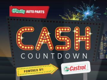 O'Reilly Auto Parts Cash Countdown Sweepstakes