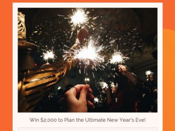 New Year's Eve Sweepstakes