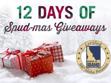 Idaho Potato 12 Days of Spud-Mas Giveaway Sweepstakes