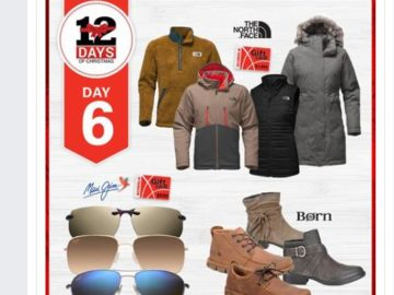 SCHEELS 12 Days of Christmas Sweepstakes