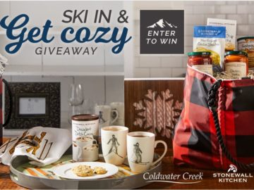 Stonewall Kitchen Ski-in & Get Cozy Holiday Giveaway Sweepstakes