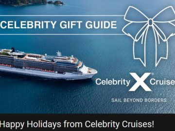 Celebrity Cruises Holiday Gift Guide Sweepstakes