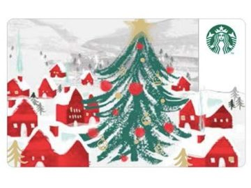 Instantly Win a $25 Starbucks Holiday Gift Card! 30 Winners!
