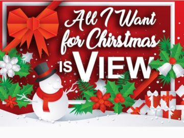 All I want for Christmas is View's Sweepstakes