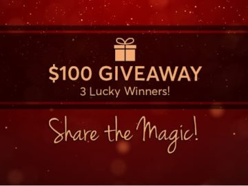 Check `n Go Share the Magic Facebook Sweepstakes