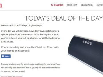 Dish Rockin' Around the RV: 12 days of Giveaway Sweepstakes