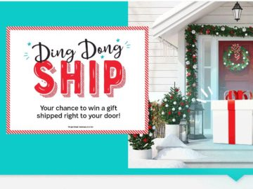 Ashley Homestore Ding Dong Ship Sweepstakes
