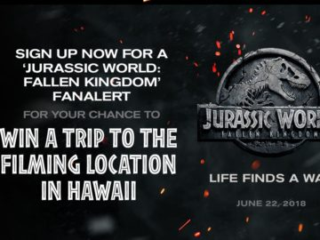 Fandango's Jurassic World: Fallen Kingdom FanAlert Sweepstakes
