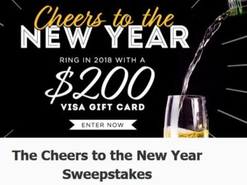 IINSP's Cheers to the New Year Sweepstakes