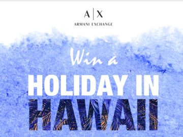 Trip to Hawaii From A|X Armani Exchange