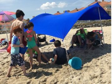 INSTANTLY WIN an eZthings UV Light Sun shade Protection Beach Shelters