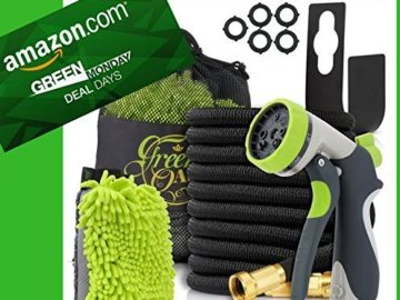 INSTANTLY WIN a 50ft Expandable Garden Hose High Pressure Triple Natural Latex Core