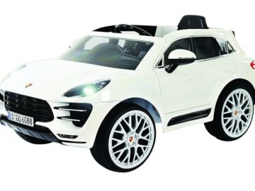 Win a Rollplay Porsche Macan 6V Battery-Operated Ride-On
