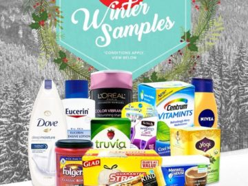 Get Free Winter Samples and Health Offers