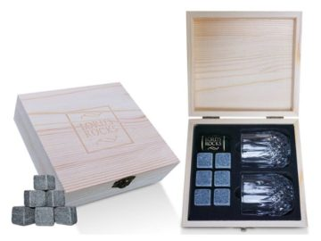 INSTANTLY WIN a Whiskey Stones Gift Set