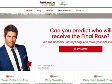 "ABC ""The Bachelor Fantasy League"" Sweepstakes"