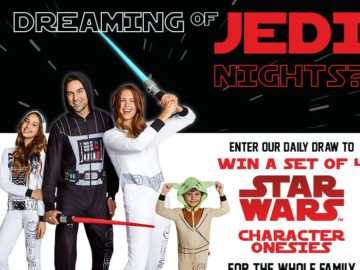 "Jammin'Jammies ""Dreaming of Jedi Nights"" Contest – Facebook"