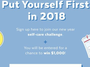 PopSugar Self-Care Challenge Sweepstakes
