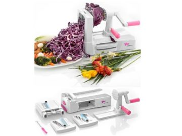 INSTANTLY WIN a WonderEsque Zoodle Maker Vegetable Spiralizer