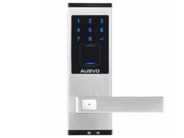 Win a AUSVO Fingerprint Door Lock Biometric Smart Keyless Digital Touchscreen Keypad Lever Lockset