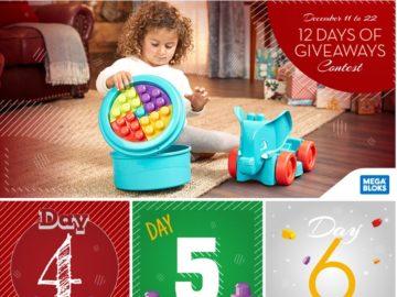 Mega Bloks 12 Days of Giveaways Contest