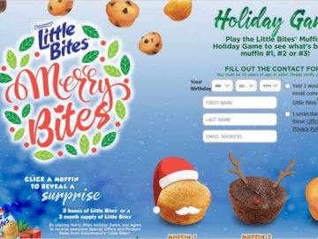 Little Bites Merry Bites Holiday Sweepstakes