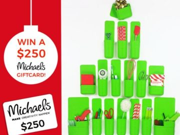 Win a $250 Michaels Gift Card