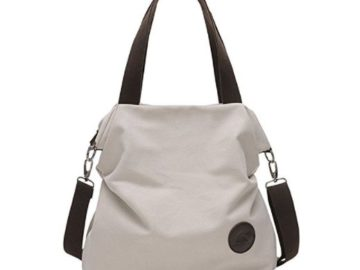 INSTANTLY WIN a Saxiner Canvas Shoulder Bag!