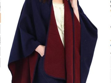 INSTANTLY WIN a Womens Blanket Poncho!