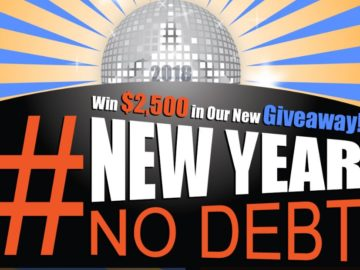 Debt.com and MoneyTalksNews #NewYearNoDebt Sweepstakes