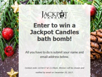 Jackpot Candles Sweepstakes