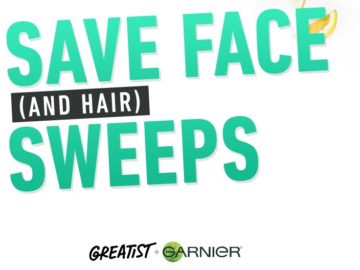 """Greatest """"How to Save Face and Hair"""" Sweepstakes"""