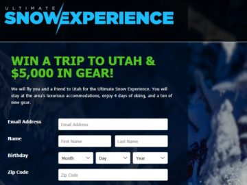Ultimate Snow Experience Contest
