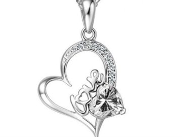 INSTANTLY WIN a Heart Pendant Necklace!