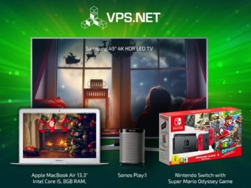 VPS.net Christmas Avent Sweepstakes