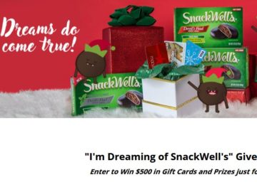 "SnackWell's ""I'm Dreaming of SnackWell's"" Giveaway Sweepstakes"