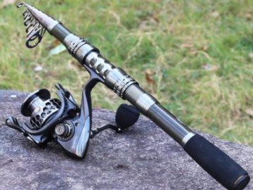 INSTANTLY WIN a Sougayilang Spinning Fishing Rod and Reel