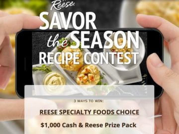 World Finer Foods Reese Savor the Season Recipe Contest