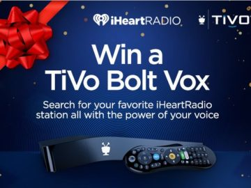 iHeartRadio & TiVo BOLT VOX 1TB Giveaway Sweepstakes